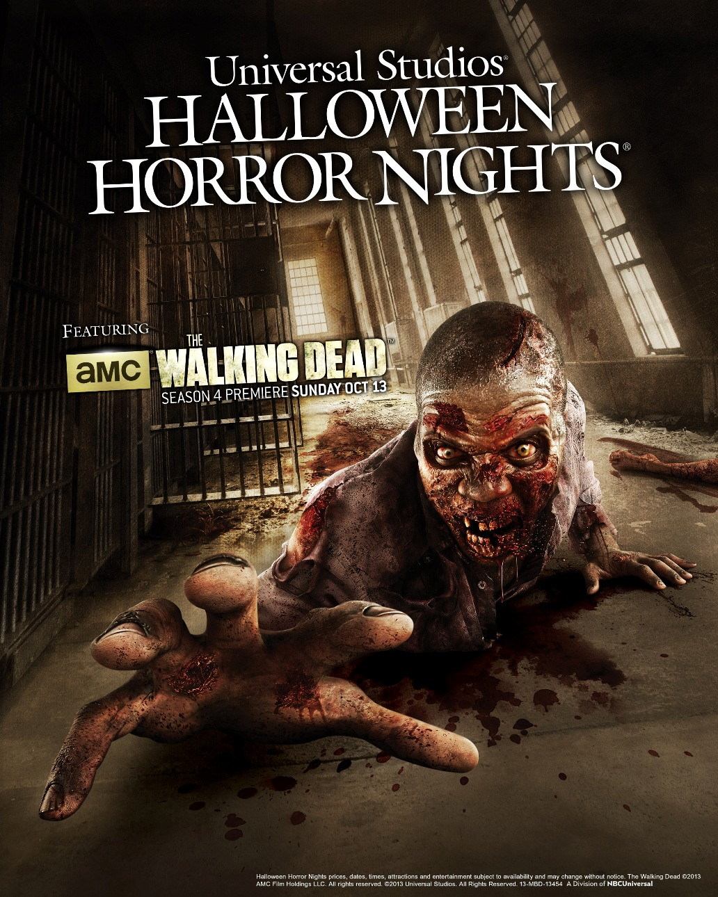 AMC's 'The Walking Dead' to Return to Halloween Horror Nights 23