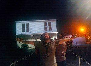 HHN 24 Halloween Facade featuring Eric Wetzel