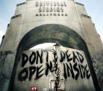TWD attraction at USH - date