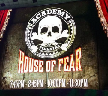 Academy of Villains House of Fear