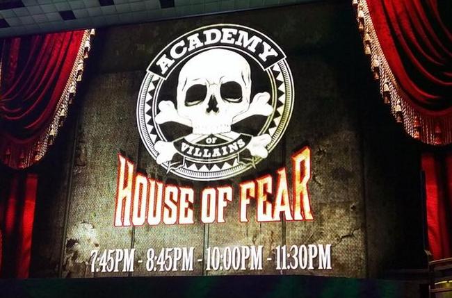 Academy of Villains House of Fear