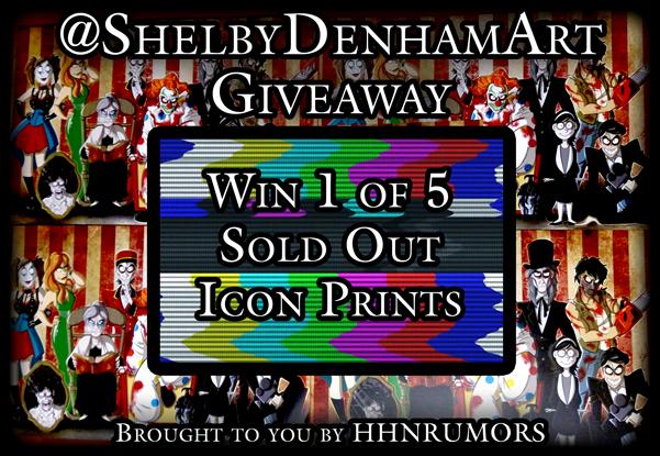 Shelby Denahm Art Giveaway