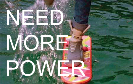 Need More Power